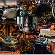 Листовая панель ПВХ Мозайка Ассорти Эрл Грей 960*480мм фото