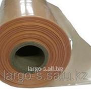 Пленка полиэтиленовая 100 мкр 1,5м * 135м техническая оранжевая фото
