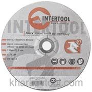 Круг зачистной по металлу Intertool CT-4025 фото