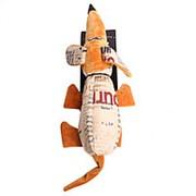 Игрушка для собак Такса (с бутылкой) 55см LMG-D0063-B фото