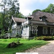 Деревянные дома, Гостевые дома из оцилиндрованного бревна, Купить (Продажа) цены адекватные. фото