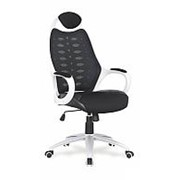 Кресло компьютерное Halmar STRIKER 2 (черно-белый) фото