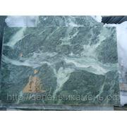 Плитка из натурального камня серпентинит(змеевик) 200х300х20мм от 1400 руб/кв.м(200 руб/шт). фото