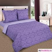 Постельное белье Византия фиолетовый (914/1, 70х70, Евро) фото