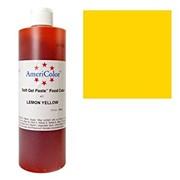 Гелевый краситель AmeriColor 383г. №407 Лимонный Желтый Lemon Yellow фото