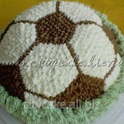 Торт тематический Футбольный мяч №0099 код товара: 4-0099 фото