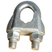 Зажим для стальных канатов оц. DIN 741 №8 фото