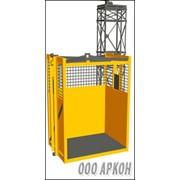 Шахтный грузовой лифт фото