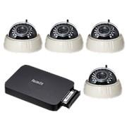"Комплект видеонаблюдения ""Zodikam Combo Office 4 WiFi"" (4 IP Wi-Fi камеры+регистратор) фото"