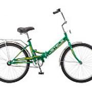Велосипед STELS PILOT 710 складной 1-ск.24 зел/жел фото