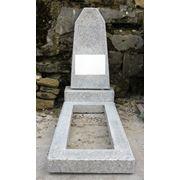Памятники из мраморной крошки от 900 лей.Цена указана за комплект.(стелатумбацветник) фото