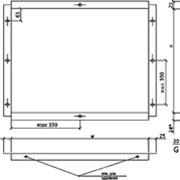 Профиль для крепления фасадных кассет К100 фото