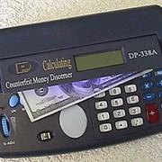 Детектор денег - калькулятор DP-338a фото