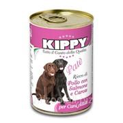 Паштет для собак KIPPY, курица, лосось и морковь 400 г фото
