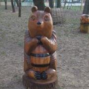 Деревянные скульптуры фото