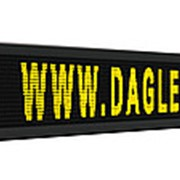 Бегущая строка LED 2 х 0 4 м желтый фото