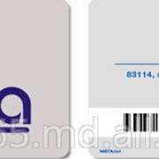 Изготовление и печать на пластиковых картачках фото