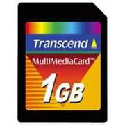 Карта памяти MMC 1GB (TRANSCEND) фото