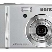 Цифровой фотоаппарат BenQ C1250 (серебристый) фото