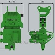 Вибропогружатель с боковым захватом ROBOT 8 фото