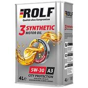Масло ROLF 3-SYNTHETIC 5W30 1л синт. фото