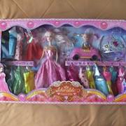"Набор кукол. В наборе кукла ""Барби"", ребенок, наряды. фото"
