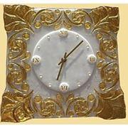 Часы из стекла фото