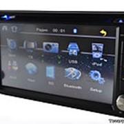 Автомагнитола 2 Din TV + DVD 6205 универсальная,штатная фото