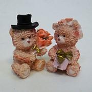 Сувенир Пара медвежат 735 6,5см фото
