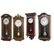 Часы деревянные настенные тм RHYTHM фото