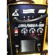 Сварочный аппарат полуавтомат 2в1 (проволока+электрод) Nikkey MIG MMA 220 (еврорукав) фото