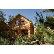 Отдых в деревянных домах фото
