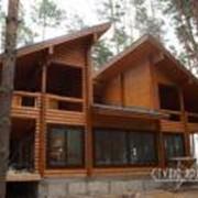 Дома деревянные (срубы). Деревянные дома. Строительство деревянных домов. фото