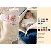 Конверты для новорожденных и младенцев из натуральной шерсти фото