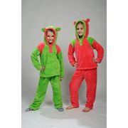 Пижамы детские из мягкой ткани фото