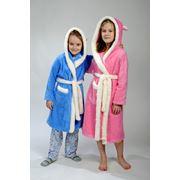 Халаты детские пушистые теплые фото