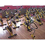 Тренировка велосипедная фото