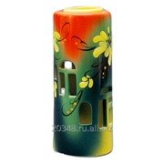 Аромалампа ручная роспись 15см керамика N507-033 фото