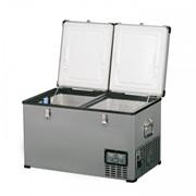 Компрессорный двухдверный автохолодильник Indel B TB65 DD 12/24/220 В фото