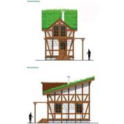 Коттеджное строительство проект Бауклотц фото