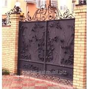 Ворота кованые в Кишиневе фото