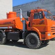 Автотопливозаправщик АТЗ-10 на шасси Камаз 43118 фото