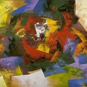 "Картина Eduard Grossman ""Гора Мегиддо"" original фото"