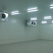 Холодильные и морозильные камеры, хранилища. фото
