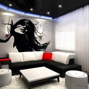 Дизайн интерьера дома, квартиры, 3D визуализация. фото