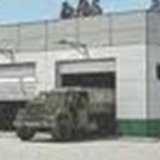 Гаражи: аренда. 4 Гаражные боксы для грузовых автомобилей размеры 6х12 м. высота ворот 3,3м. фото
