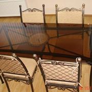 Стол с 4 стульями фото