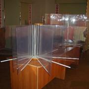 Информационные стенды из стекла фото