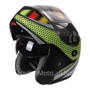 Шлем трансформер с очками FL-258. York фото