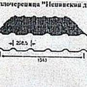 Металлочерепица Испанская дюна, Полиэфир с 1-й стороны, 1147(1040)x0.5мм фото